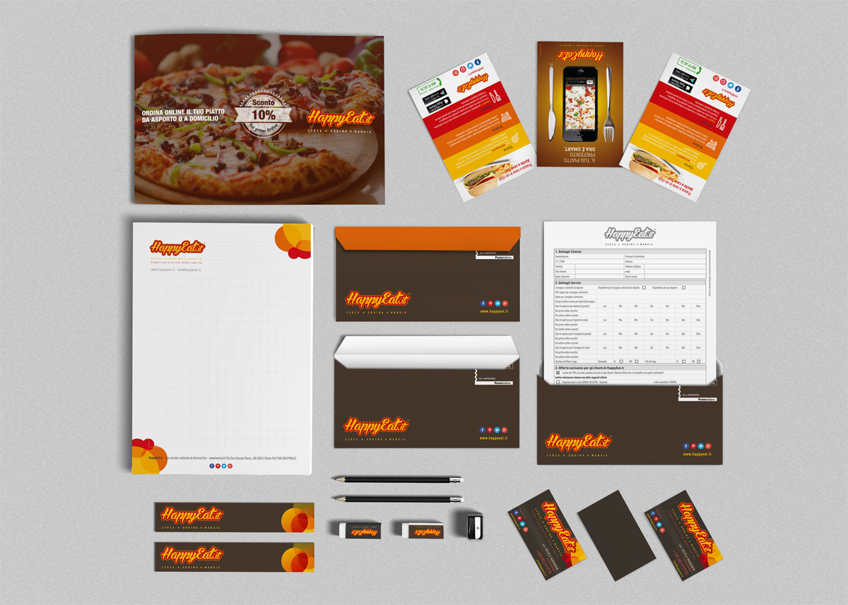 HappyEat.it corporate identity